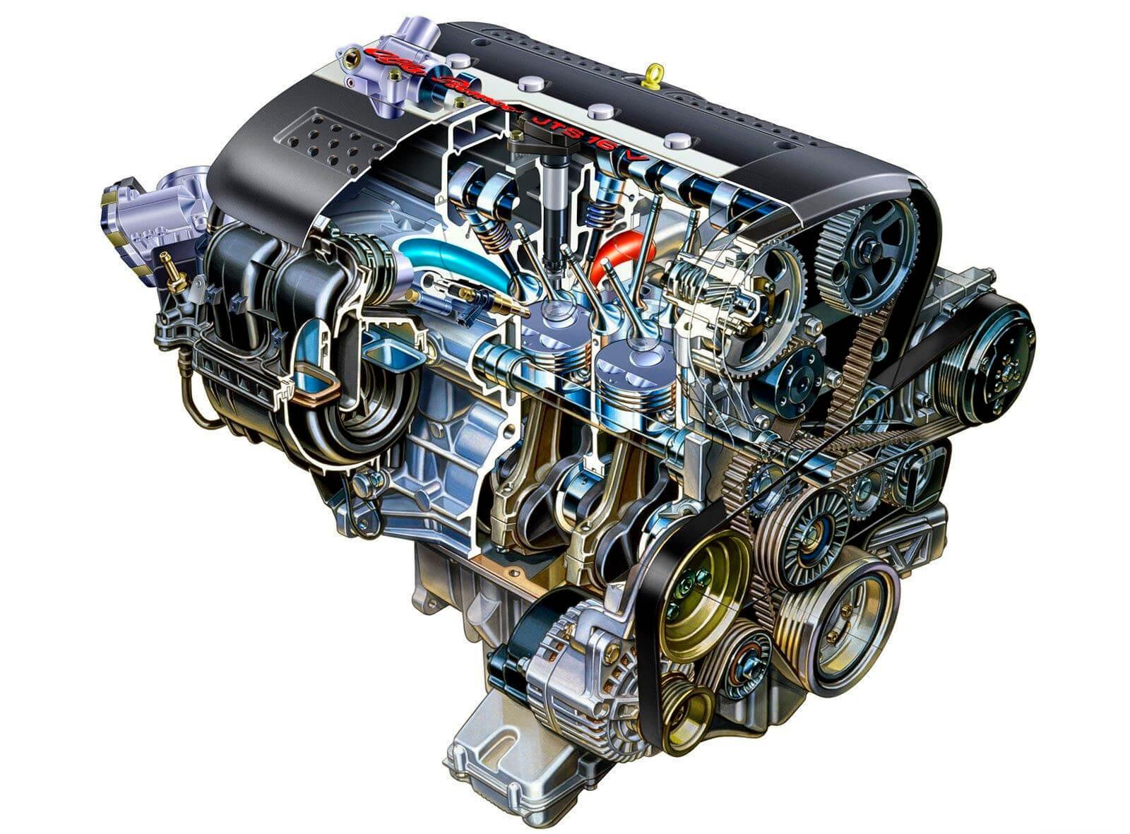 Схема ремонта двигателя внутреннего сгорания